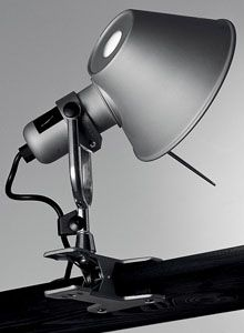 Artemide Tolomeo Clip-on Lamp Spot Light