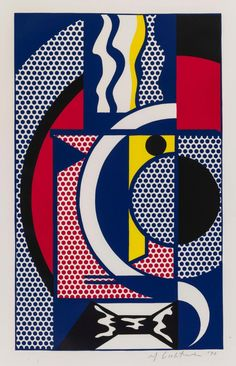 Ideas For Pop Art Painting Abstract Roy Lichtenstein Cultura Pop, Pop Art Roy Lichtenstein, Modern Art, Contemporary Art, Art Walk, Arte Popular, Andy Warhol, Commercial Art, Art Design