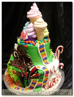 BIG FANCY CAKES For All Those Who Loved Playing Candy Land A Cake