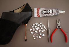 1x1.trans DIY   Customização de Sapato Salto Alto   Miu Miu Shoes