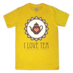 Tea T-Shirt | Community Post: 17 T-Shirts That Celebrate The UK