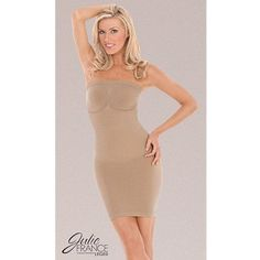 Julie France Léger Strapless Dress Shaper