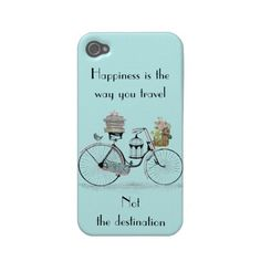 Happiness is the way you travel iphone 4 covers by In_case