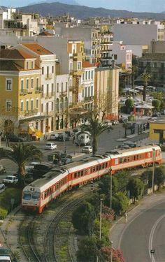 Σταθμός Trains, Greece Photography, Acropolis, Photo Diary, Ancient Greece, Train Station, Public Transport, Old Photos, Transportation
