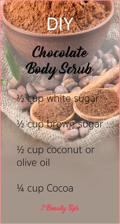 DIY body scrub recipes 7 Beauty Tips You are in the right place about DIY Body Care beauty hacks Her Body Scrub Recipe, Diy Body Scrub, Sugar Scrub Recipe, Diy Scrub, Coffee Body Scrub Diy, Exfoliating Body Scrub Diy, Coconut Oil Sugar Scrub, Brown Sugar Scrub, Salt Body Scrub