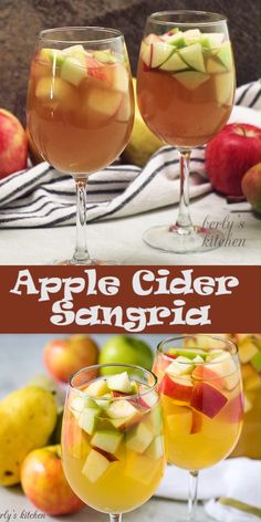 Apple Cider Sangria Apple Cider Sangria,Thanksgiving Themed Recipes Just in time for Fall, our simple apple sangria recipe! It's features crisp apples combined with white wine, apple cider, and our favorite vodka. Fall Drinks Alcohol, Alcohol Drink Recipes, Alcoholic Drinks, Apple Cider With Alcohol, Fall Mixed Drinks, Winter Drinks, Apple Cider Sangria, Cider Cocktails, Cocktail Recipes