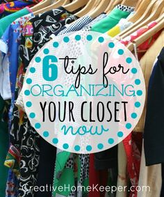 6 tips for organizing your closet can help you quickly get your wardrobe in order, as well as rediscovering pieces you love to build new outfits without having to spend any money.
