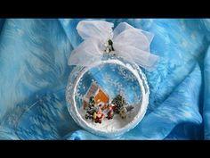 Шар с миниатюрой. Как самому создать новогоднюю сказку.... Обсуждение на LiveInternet - Российский Сервис Онлайн-Дневников