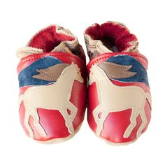 Appaloosa baby shoes in allleather by cadeandco on Etsy, $34.00