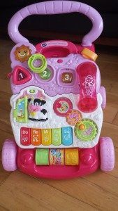 Vtech Sit Stand Learning Walker Pink