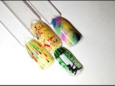 Дизайн ногтей. Мыльные пузыри. Градиент/Nail Design.Gradient. Bubble - YouTube