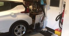 Chevy Bolt Owner Says EV Reversed And Crashed Itself Into Garage #Chevrolet #Chevrolet_Bolt