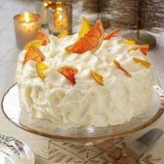 Grapefruit Layer Cake Recipe from Taste of Home