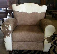 Cowhide Furniture Co Cowhide Furniture, Furniture Decor, Cow Decor, Round Ottoman, Western Decor, Ranch Style, Love Seat, Armchair, Benches
