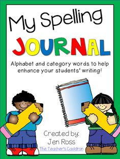 My Spelling Journals!