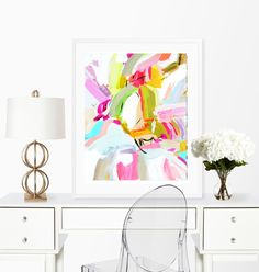 Abstract prints, Large Wall Art Print Watercolor Abstract painting Poster Gift Home Decor Birthday gift for her  Wall Decor by Marendevineart on Etsy