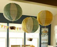 Hot Air Balloon Mobile Decor