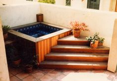 Square tiled Nespa pool