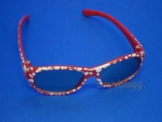 """Red Sun Glasses for 18"""" American Girl Doll Clothes Widest Selection! in Dolls & Bears, Dolls, Clothes & Accessories 