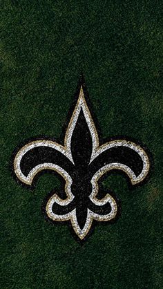 New Orleans Saints Mobile Field Team Logo Wallpaper Saints Gear, All Saints Day, Nfl Football Schedule, Minnesota Vikings Wallpaper, Viking Wallpaper, New Orleans Saints Football, Logo Background, Football Wallpaper, American Football