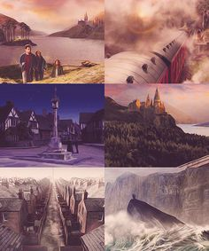 Harry Potter and the Half-Blood Prince: Scenery Concept Art
