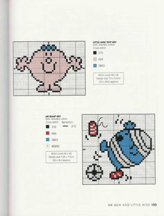 Gallery.ru / Фото #100 - Adele Welsby`s - Cross Stitch Characters - anfisa1