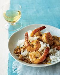 Goan Shrimp Curry - Sanjeev Kapoor and his wife, Alyona, love beach vacations in Goa. Kapoor prepares this shrimp curry in typical Goan style, so it's tangy, spicy and vibrant.