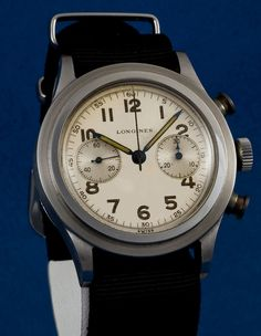 An amazing 1930's Longines 13zn Chronograph.