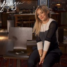 """Being true to yourself, you will always win at the end of the day"" - Hilary Duff 
