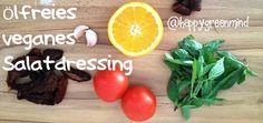 Ölfreies veganes Salatdressing