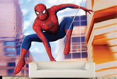 Digital printed self adhesieve wallpapers at R350 per square m www.vinylart.co.za Interior Wallpaper, Textured Wallpaper, Vinyl Art, Spiderman, Wallpapers, Superhero, Disney Princess, Printed, Digital