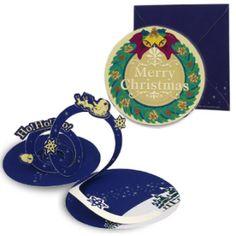 Christmas wreath card set - Christmas - Craft Cards - Gift & CardCanon CREATIVE PARK