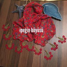 Kırmızı kırmızı 😍 Renklendik #needlelace #handmade #nofilter #lace #turkishneedlelace #iğneoyası #i̇peğinbüyüsü #nostalji #ipekiğneoyası #elişi #kişiyeözel #scarft #fular #kırmızı #red #tığişi