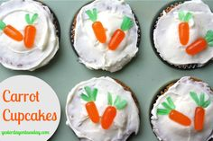 Easy carrot cupcakes