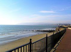 Sandown in February - Isle of Wight