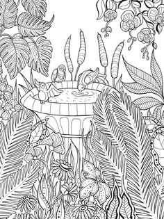 Welcome to Dover Publications-Keep Calm and Color Gardens of Delight