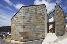 slate cladding, House of Uchigami / Keisuke Kawaguchi + K2-Design