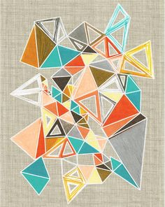 Precipice Series /  Crystal Jackson . Polymorphia