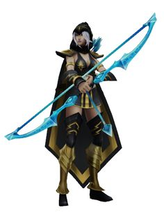 ashe lol front view - Google Search