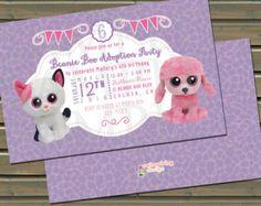 Glamour and Leona Beanie Birthday Party by TwinspiringDesign
