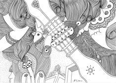 """""""dream machine"""", india ink drawing, A4, canson paper mixed media image 200g/m2, Pigma Micron fineliner, ©matthias hennig 2019, """"dream machine"""", zeichnung mit pigmenttusche, A4, canson paper mixed media image 200g/m2, Pigma Micron fineliner, ©matthias hennig 2019 Micron Fineliner, Pigma Micron, Dream Machine, Drawing, Abstract, Artwork, Summary, Work Of Art, Auguste Rodin Artwork"""
