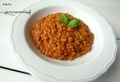 Penne im Topf: Tomaten - Risotto