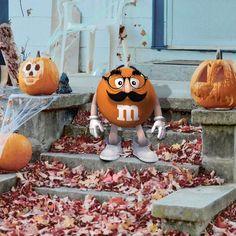 M & M  orange power.....