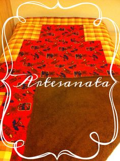 Manta patchwork moderno