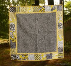 Free tutorial for Charming Baby Quilt by Lori Miller Designs