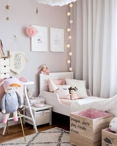 Girl bedroom ideas in 2019 детская комната, детские. Brown Crib, Ikea Pictures, Yellow Nursery, Crib Bedding Sets, White Furniture, Fashion Room, My Room, Girl Room, Decoration