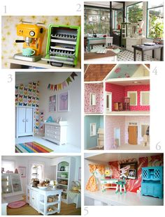 Dollhouse Inspiration - links to other dollhouse resources