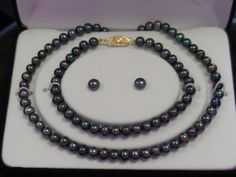 black pearls-Santa can drop that off and I will definitely be happy :)