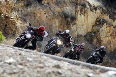 Galería de imágenes de la comparativa de las naked de Yamaha, Kawasaki, MV Agusta y Ducati | Motociclismo.es