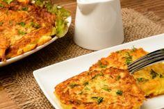 Galette de purée de pommes de terre, fromage cheddar et bacon croustillant